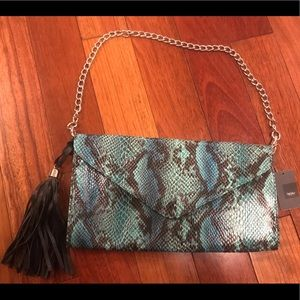 Mossimo snake skin purse